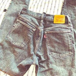 Vintage Grey Levi's 501